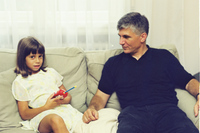 Zoran Đinđić sa ćerkom Jovanom