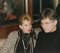 Zoran Đinđić sa suprugom