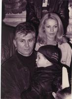 Zoran Đinđić sa suprugom Ružicom i sinom Lukom