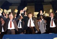 Izborna konvencija DS, hala Čair, Niš decembar 1992. godine