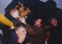 Zoran Đinđić sa sinom Lukom