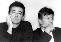 Zoran Đinđić i Mihajlo Kovač, 1992. godina