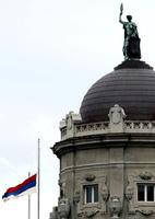 Zastava na zgradi Vlade Srbije spuštena na pola koplja