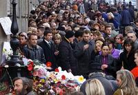 Građani odaju poštu ubijenom Predsedniku Vlade Zoranu Đinđiću